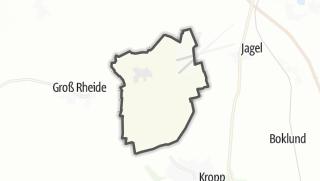 Cartina / Klein Rheide