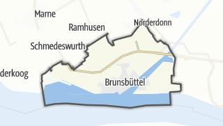 Mapa / Brunsbüttel