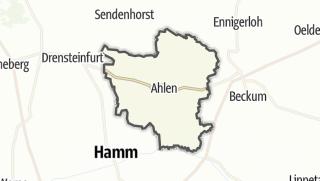 Mapa / Ahlen