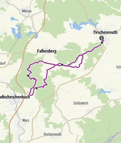 Karte / Radtour 08