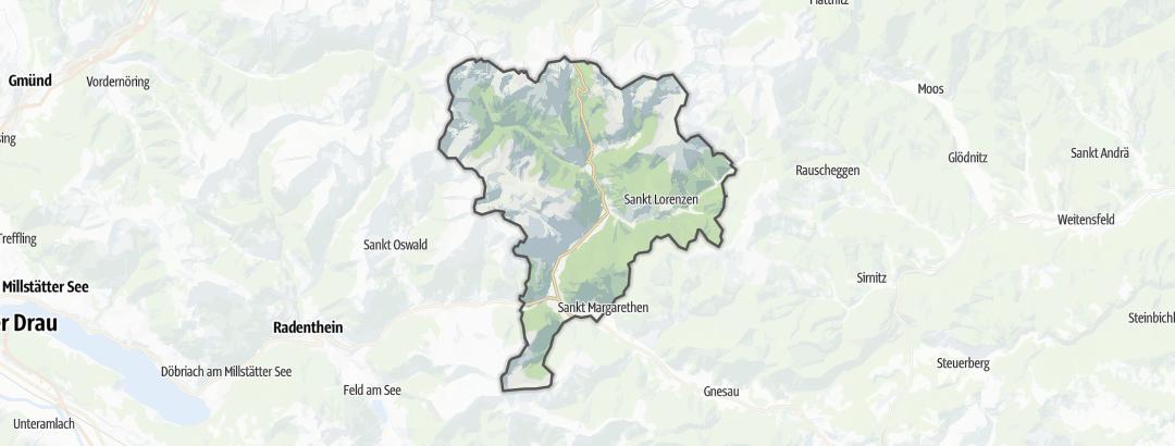 Карта / Пеший туризм в Reichenau