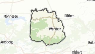 Mapa / Warstein