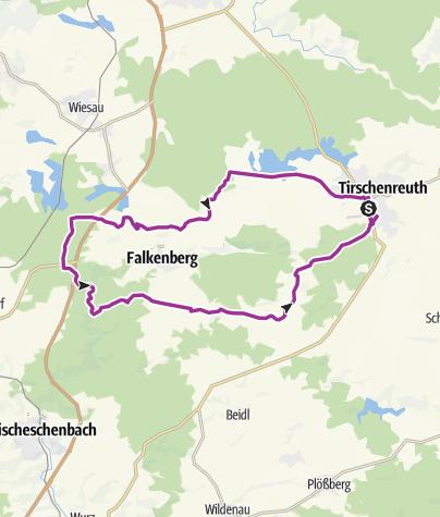 Karte / Radtour 11