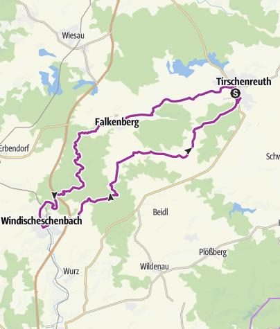Karte / Radtour 14