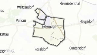 Cartina / Zellerndorf