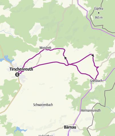 Karte / Radtour 19