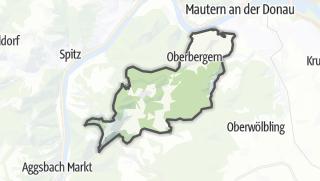 Cartina / Bergern in Dunkelsteinerwald