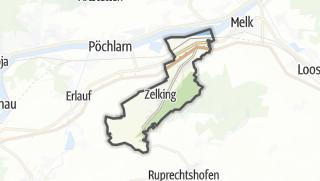 Cartina / Zelking-Matzleinsdorf