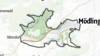 מפה / Hinterbrühl
