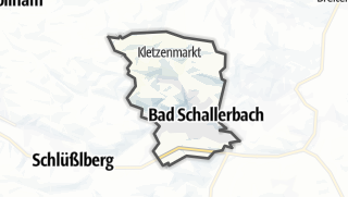 Cartina / Bad Schallerbach