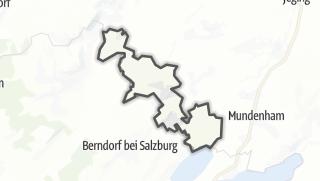 Cartina / Perwang am Grabensee