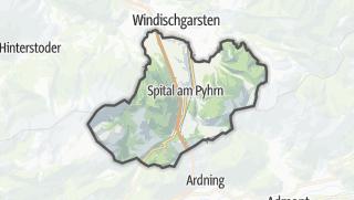 地图 / Spital am Pyhrn