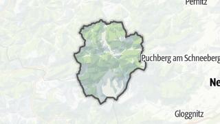 Map / Schwarzau im Gebirge