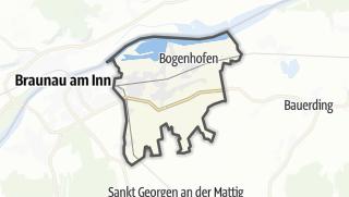 Mapa / Sankt Peter am Hart
