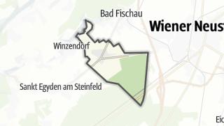 地图 / Weikersdorf am Steinfelde