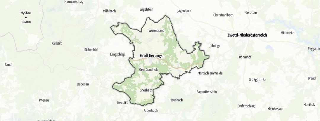 Карта / Культура в Groß Gerungs