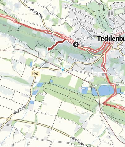 Karte / Hexenpfad Tecklenburg