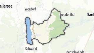 Mapa / Zell am Moos