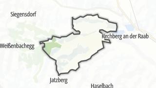 מפה / Oberdorf am Hochegg