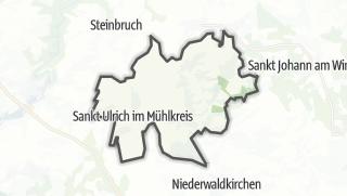 地图 / Sankt Ulrich im Mühlkreis