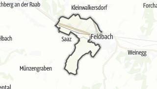 מפה / Gniebing-Weissbach