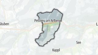 Map / Pettneu am Arlberg