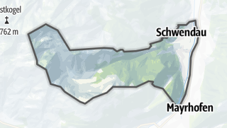 Mapa / Schwendau