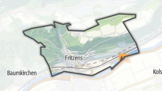 Karte / Fritzens