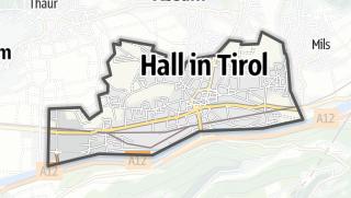Karte / Hall in Tirol