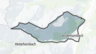 Karte / Vorderhornbach