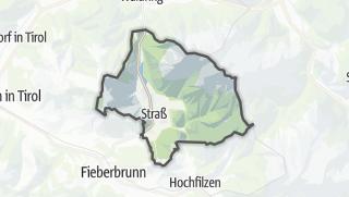 Map / Sankt Ulrich am Pillersee