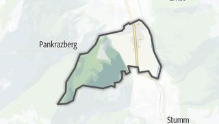 Mapa / Uderns