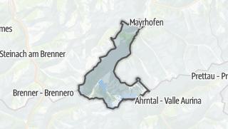 Mapa / Finkenberg