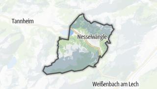 Cartina / Nesselwängle