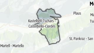 Karte / Kastelbell-Tschars