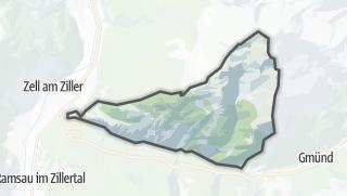 Karte / Gerlosberg