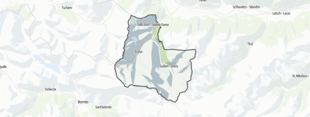 Hartă / Drumeții montane in Stilfs
