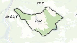 מפה / Ružová