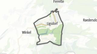 Mapa / Ligsdorf