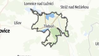 Karte / Třeboň