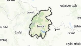 Karte / Bruntál