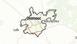 מפה / Olomouc