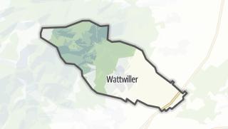 מפה / Wattwiller