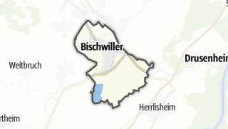 Cartina / Bischwiller