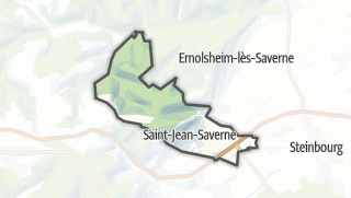 Cartina / Saint-Jean-Saverne