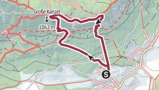 Karte / Hohe Wand - Wagnersteig & Springlessteig