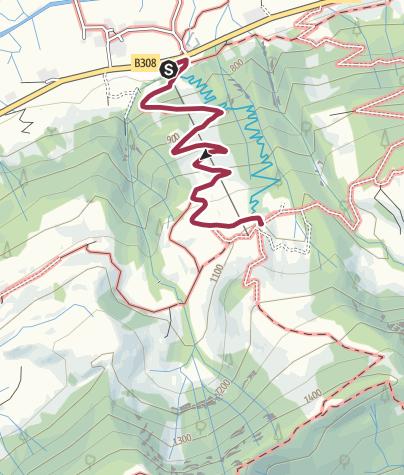 Karte / Wanderung hinauf zum Alpsee-Coaster in Ratholz bei Immenstadt