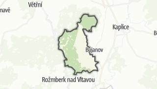 Karte / Rožmitál na Šumavě