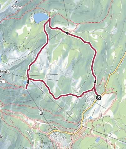 Map / Lago delle Malghette, 13 Luglio 2014