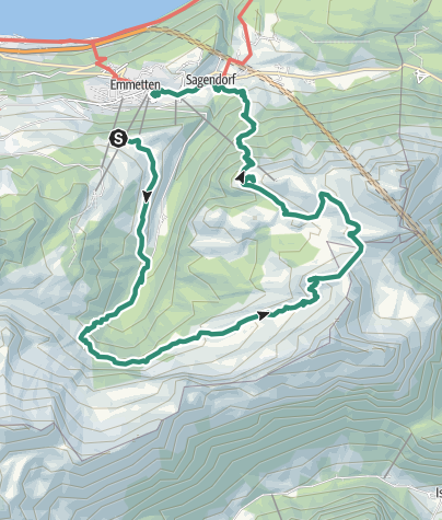Map / Hochtal